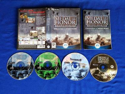 PC - MEDAL OF HONOR ALLIED ASSAULT DELUXE EDITION (retro 2003) Top