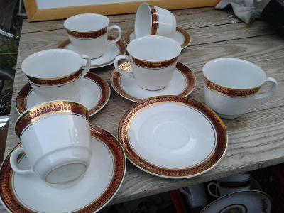 starý porcelán  -  šálky- viz foto /870
