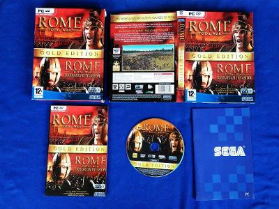 PC - ROME TOTAL WAR GOLD EDITION (retro 2002-2005) Top