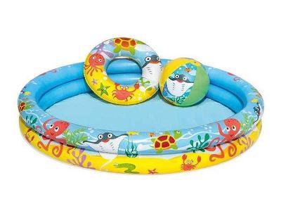 Nemo set (bazén+míč+kruh) + dárek