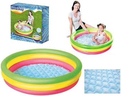 Dětský bazén Duha 102cm + dárek