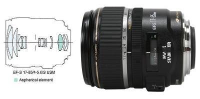 CANON objektiv EF-S 17-85 mm f/4-5,6 IS USM + makro kroužky