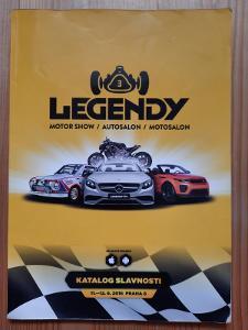 Legendy motor show / autosalon / motosalon katalog slavnosti
