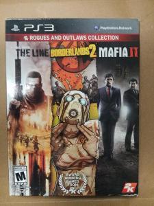 Sběratelská edice her PS3 - Mafia 2, Borderlands 2, Spec Ops: The Line