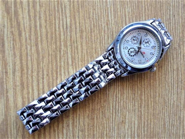 Náramkové hodinky GENEVA quartz #508-50 - Starožitnosti