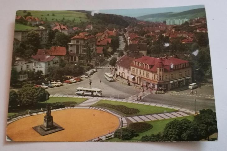 Pohled Luhačovice - Pohlednice