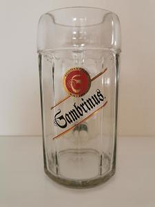Tuplák GAMBRINUS - pivní sklo