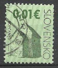Slovensko, r. 2009, Pof. 438, razítkované