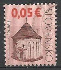 Slovensko, r. 2009, Pof. 440, razítkované