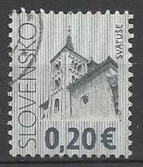 Slovensko, r. 2009, Pof. 442, razítkované