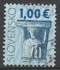 Slovensko, r. 2009, Pof. 447, razítkované