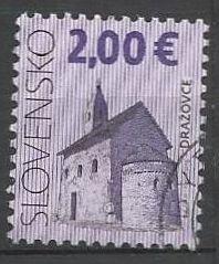 Slovensko, r. 2009, Pof. 449, razítkované