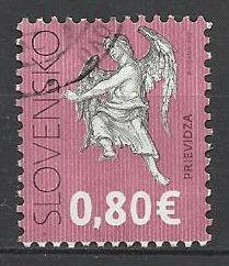 Slovensko, r. 2012, Pof. 510, razítkované