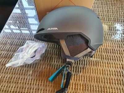 ALPINA helma lyžařská Maroi, velikost 61-64