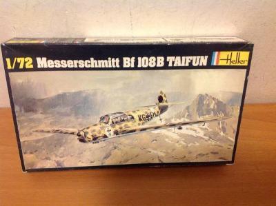 HELLER - Messerschmitt Bf 108B TAIFUN, 1/72