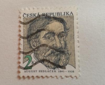 Známka 2 Kč Česká republika