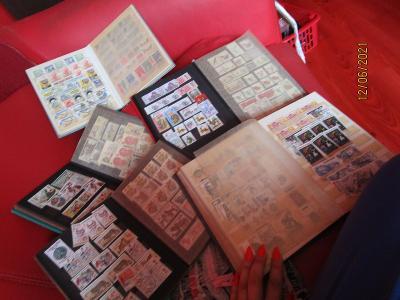 set obycejnych znamek