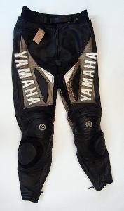 Kožené kalhoty YAMAHA, vel. S/48, pas: 82 cm