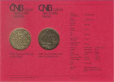 Certifikát Hrad Pernštejn (pouze karta, bez mince)