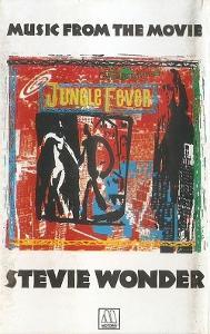 Audio Kazeta WONDER Stevie Music from t.Movie Jungle fever 1991 Motown
