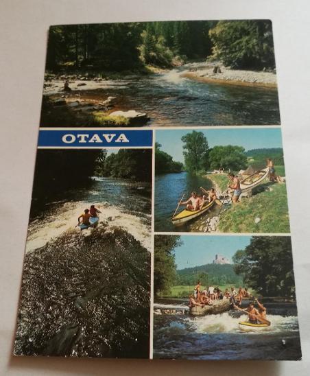 Pohled  Otava - Pohlednice