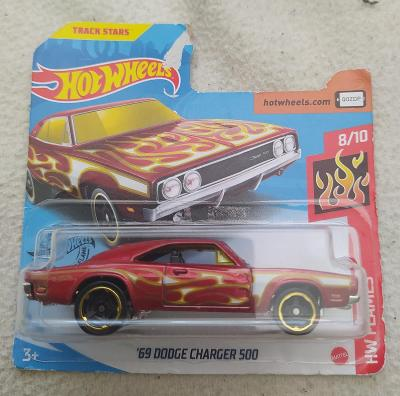 Dodge Charger 500 '69 - Hot Wheels