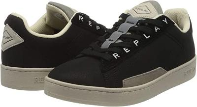 REPLAY Iron Black Trainers, EUR 43
