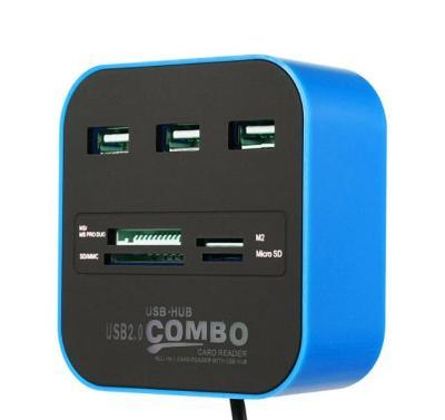 USB HUB Modrý
