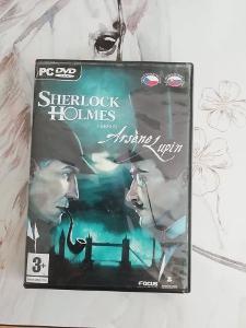 PC hra Sherlock Holmes versus Arséne Lupin