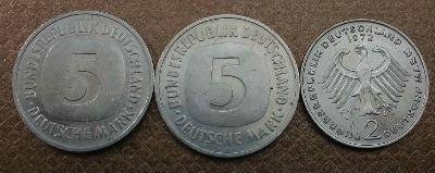 NSR 5 Marka 1989 F , 1990 D ,  2 Marka 1972 D  velmi pěkné !!!