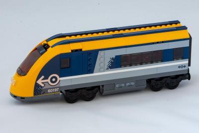 Lego vlak - Nový řídící vůz z Lego city