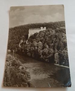 Pohled  zámek Orlík
