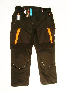 Textilní kalhoty- vel. 3XL/58, pas: 110 cm