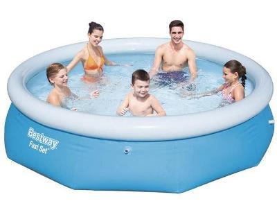 Rozšiřující se bazén 305x76cm - BESTWAY 57266 + dárek