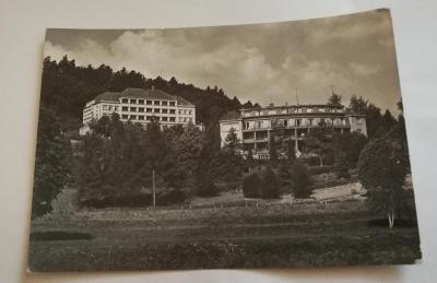 Pohled  lázně Teplice na Moravě