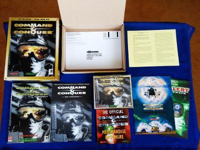 PC - COMMAND a CONQUER - DOS/WIN 95 - BIG BOX (retro 1995-1997) Top