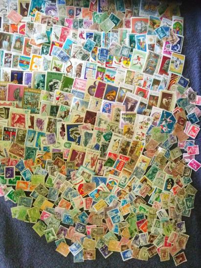 Každá jiná - poštovní známky Rumunska 860 ks  - Filatelie