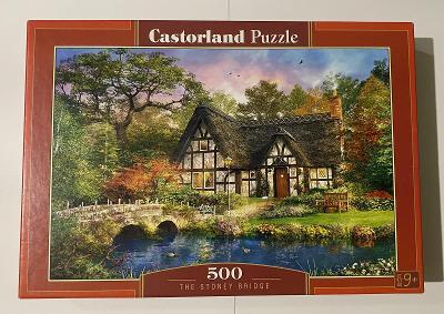 puzzle Kamenný most (Castroland 500 dílků)