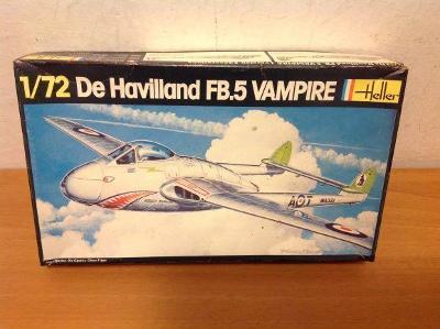 HELLER - De Havilland FB.5 VAMPIRE, 1/72