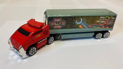 Hot Wheels tahač 2001 Willy's robo repair na jedno autíčko 1:64