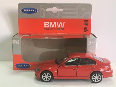 BMW 330i - Welly 11,5cm měřítko 1/34 až 1/39 (H17-8)