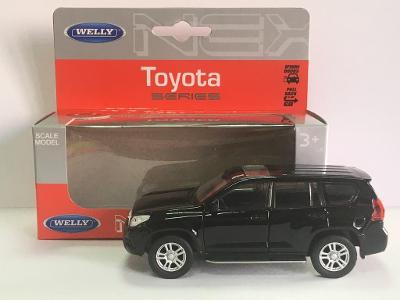 Toyota Land Cruiser Prado - Welly 11,5cm měřítko 1/34 až 1/39 (H17-9)