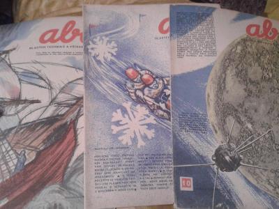ABC ROČNÍK 3 1959  KOMIKS FOGLAR VYŠKOVSKÝ RICHARD abcx1x