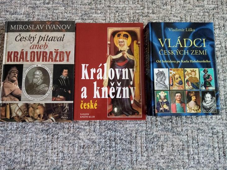 Vládci Českých zemí - Knihy