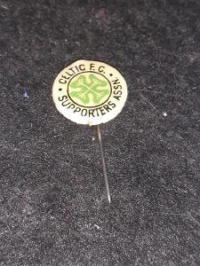 Odznak CELTIC GLASGOW - fotbalový klub Skotsko
