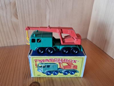 MATCHBOX RW 30   8 - WHEEL CRANE