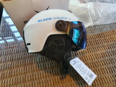 Black Crevice lyžařská přilba pro dospělé Gstaad