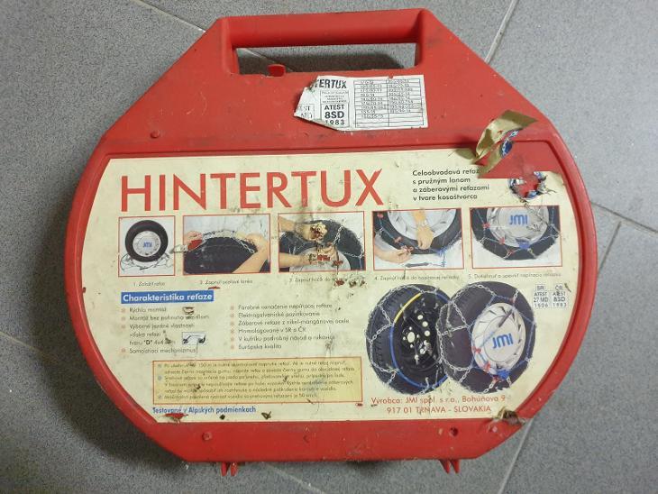 Sněhové řetězy Hintertux - Náhradní díly a příslušenství pro osobní vozidla