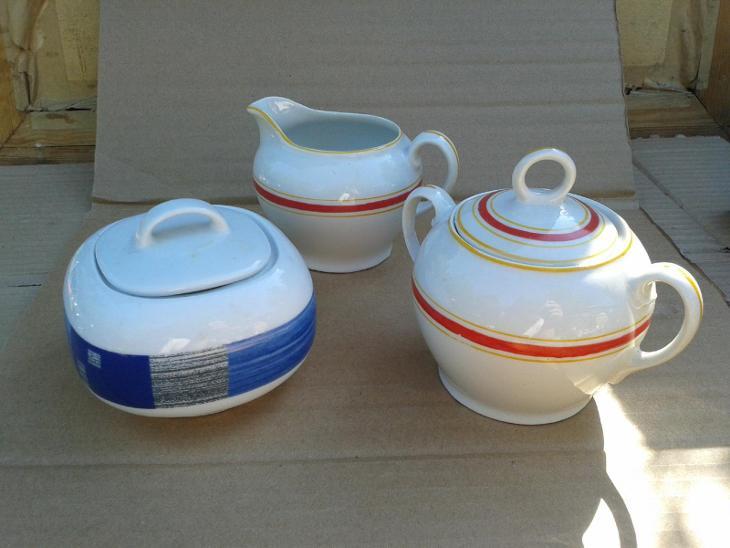 starý porcelán  CUKŘENKY  - /816  - Porcelán