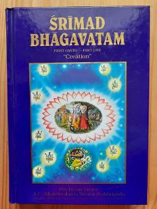"Srimad Bhagavatam First Canto - part one ""creation"" kniha"